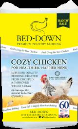 Bed-Down Cozy Chicken Bedding