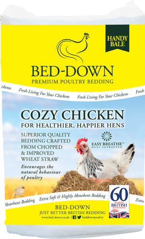 Cozy Chicken Poultry Bedding