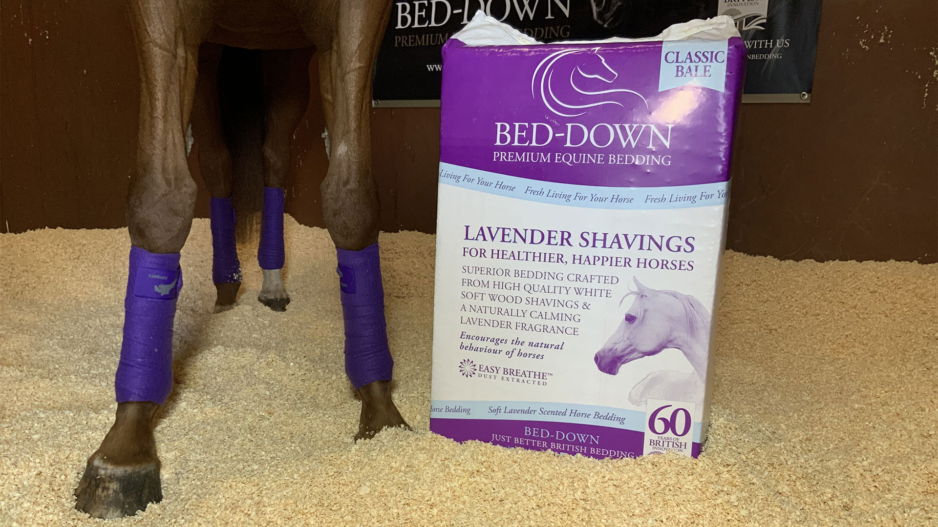 Lavender Shavings Bedding